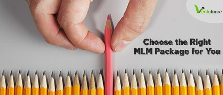 Choose the right MLM package for you