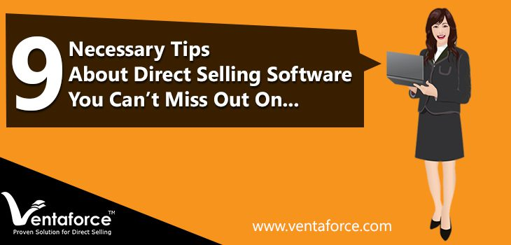 Tips For Direct Selling Software