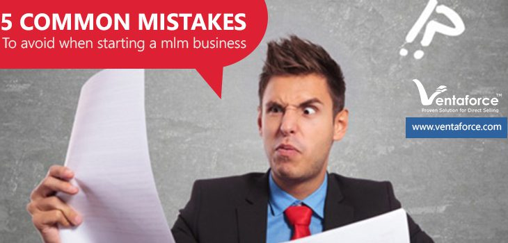 5 common mistakes to avoid when starting a MLM business